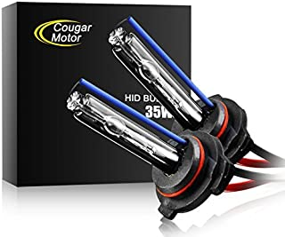 CougarMotor HID Xenon Headlight Replacement Bulbs - H11-35W 6000K (Pack of two bulbs) - 2 Yr Warranty