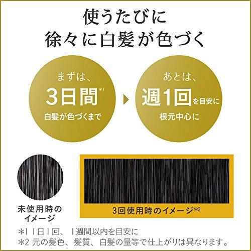 リライズ白髪染めリ・ブラック(自然な黒さ)ふんわり仕上げ男女兼用本体155g