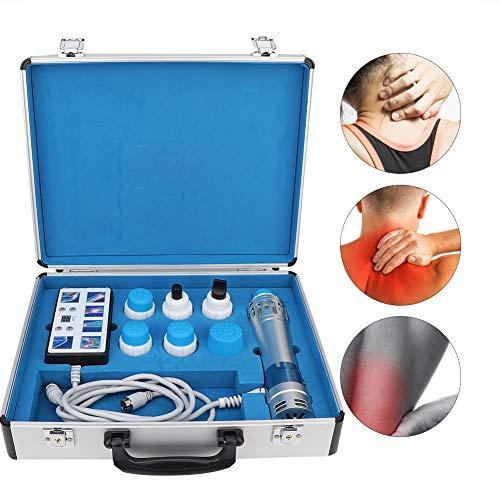 Qinlorgon Massaggiatore ED per alleviare Il Dolore, Spina elettromagnetica extracorporea Professionale a Onde d'urto 110-240V