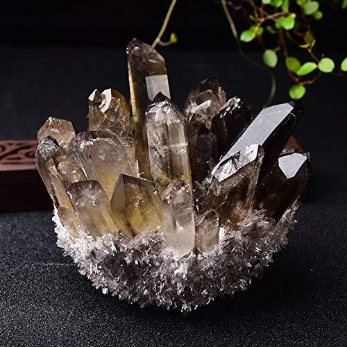Cristal Cristal Natural AMORTE DE AMORTAMIENTO EMPIENTE Mineral Ore Amarillo Verde Purple Cuarzo Reiki Piedra Cristal DE Cristal DE Cristal DE CASA DE CASA GIFI