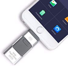 128 GB New USB i-Flash Drive Device Memory Stick OTG for iPhone iPod iOS Android (Silver)
