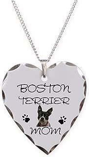 boston terrier pendant