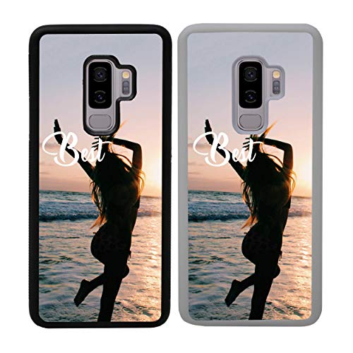 I-CHOOSE LIMITED Mejores Amigos Funda para Samsung Galaxy S9 Cubierta de Smartphone Parachoques de Protección para G960