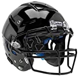 Schutt Sports F7 LX1 Youth Football Helmet (Facemask NOT Included), Black, Large