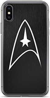 iPhone 7 Plus/8 Plus Case Anti-Scratch Motion Picture Transparent Cases Cover Star Trek Logo Action Movies Video Film Crystal Clear
