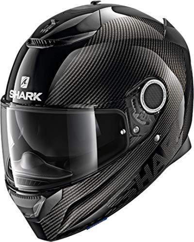 SHARK NC Casco per Moto, Hombre, Negro, M