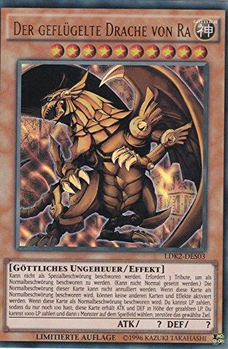 LDK2-DES03 - Der geflügelte Drache von Ra - Ultra Rare - Yu-Gi-Oh - Deutsch - 1. Auflage