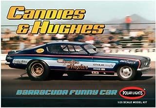 Polar Lights 1/25 NHRA Candies & Hughes Barracuda Funny Car Model Kit