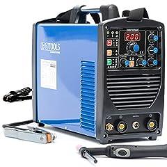 IPOTOOLS ACDCTIG 200P TIG Spawarka SPAWARKA AC DC Spawarka z 200 Amper W pełni cyfrowe urządzenie spawalnicze falownika Włącznie z zapłonem RF, funkcją impulsową, MMA/E-hand, IGBT