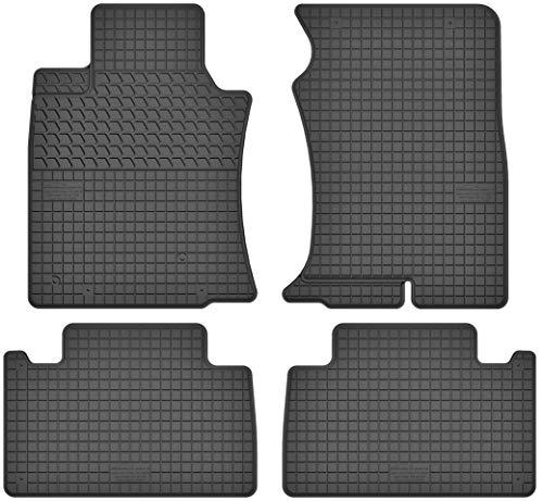 Motohobby Gummimatten Gummi Fußmatten Satz für Toyota Land Cruiser 120 (2002-2009) / Land Cruiser 150 Prado (ab 2009) - Passgenau