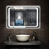 Xinyang 700x500 <span class='highlight'>Bathroom</span> Wall <span class='highlight'>Mirror</span> with LED Lights,with Demister Pad,Touch Sensor,IP44,Landscape or Portrait