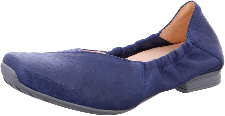 Think  Damen Ballerinas Gaudi Indigo 4-84723-89 8 blau 627396