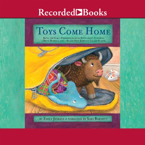 Toys Come Home audiobook cover art
