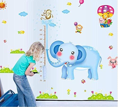 FAGUANG-Altura pegatinas de pared Tierparque de atracciones Kinderzimmer Pegatinas decorativas pegatinas de pared herausnehmbare para niños Niños