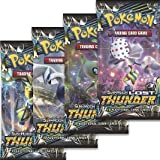 Pokemon - Sun and Moon Lost Thunder Booster Pack - Set of 4