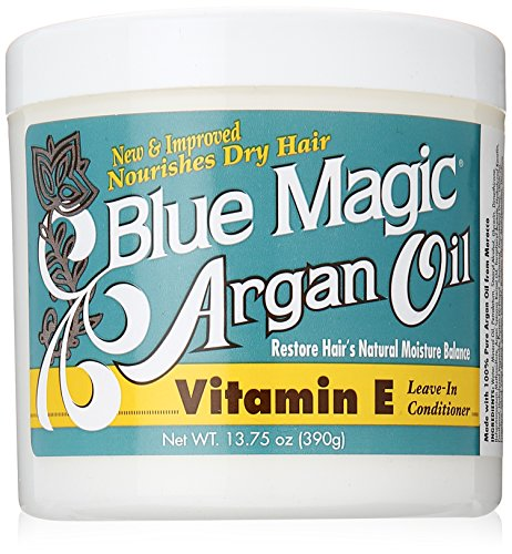 Blue Magic Argan Oil & Vitamin-e Leave-in Conditioner 13.75 Oz