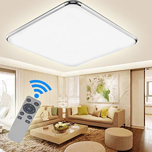 Preisvergleich Produktbild ADEMAY LED Modern Dimmbar Deckenleuchte Deckenlampe Flur Wohnzimmer Lampe Schlafzimmer Küche Panel Leuchte Energie Sparen Licht (48W)