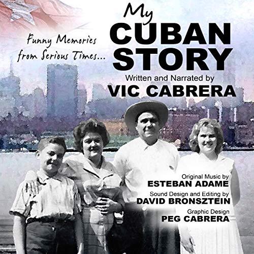 My Cuban Story audiobook cover art