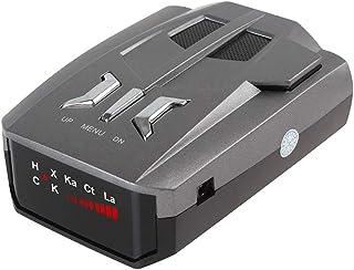 360 degree car radar detector, voice alarm, single display vehicle mobile speedometer, 16 sets of automatic LED display