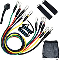 11-Piece Inzenyn Resistance Band Set with Door Anchor