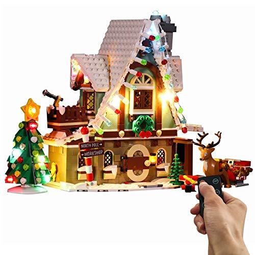 LOSGO Juego de iluminación LED para Lego 10275 Elves Magic House, diseño moderno con mando a distancia compatible con Lego 10275