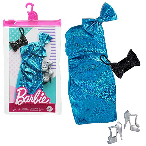 Barbie Vestido de Lentejuelas Mattel GRC01 | Moda de Muñeca
