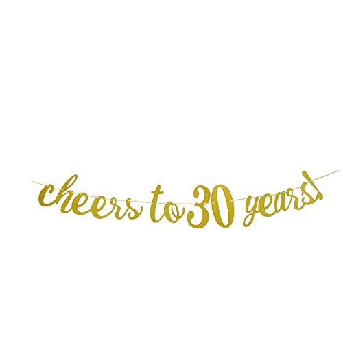 EL Cheers To 30 Years Banner