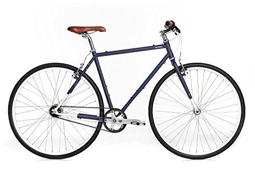 Buy Brilliant Bicycles Brilliant Bikes Co - l-Train, Large, Hudson Blue, 56cm/Large