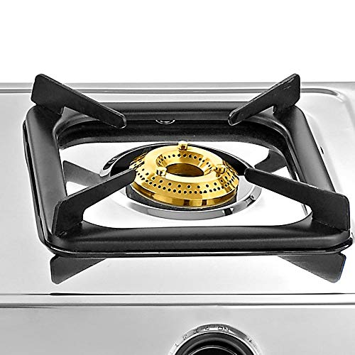 MJ Ragav Gas Stove Burner Extra Attachment Removable Grill/Jali Smart Stainless Steel Burner Gas Stove - Set of 2 Piece