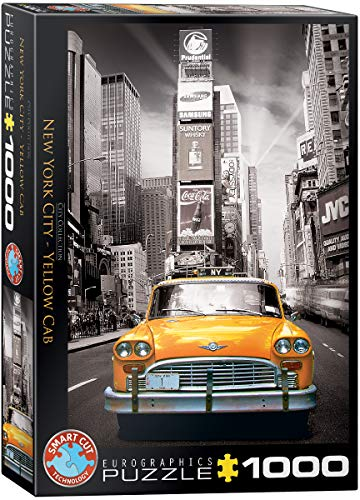 Eurographics Puzzle 1000 Pz - New York Yellow Cab