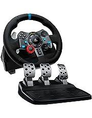 لوجيتك درايفنج فورس G29 عجلة قيادة لبلاي ستيشن 4، بلاي ستيشن 3 وبي سي