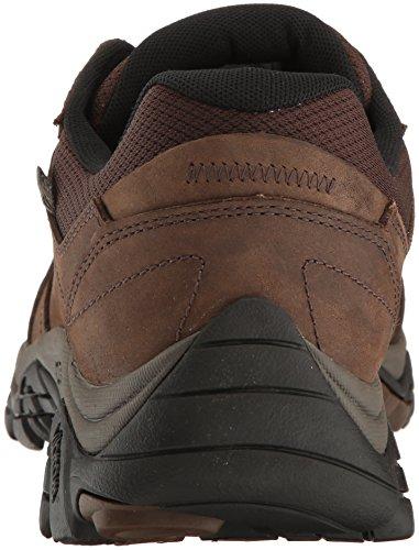 Merrell mens Moab Adventure Lace Wtpf Hiking Shoe, Dark Earth, 11.5 US
