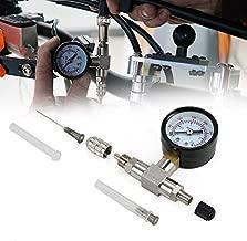 Nicecnc Shock Nitrogen Needle Fill Tool Compatible with Y-a-maha YZX,RZR's, Arctic Cat,Ohlins,Raptor truck shocks,Fox UTV,snowmobile shocks