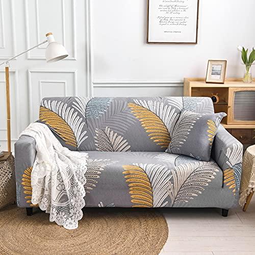 MKQB Funda de sofá de Forma geométrica, Funda de sofá elástica elástica,...