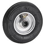 Dörner + Helmer 740108 - Ruota pneumatica 200 x 50 x 20 mm, con cerchione in acciaio, moz...