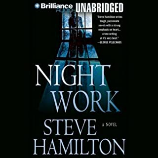 Night Work audiobook cover art