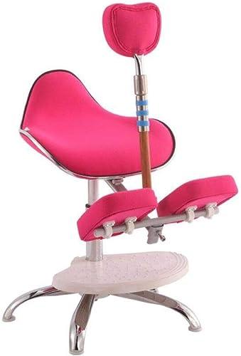 Kinderkniegesessel, klappbarer ergonomischer Stuhl zum Heben (Farbe   Rosa)