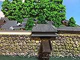日本の名城 鹿児島城 模型 ジオラマ完成品 A5