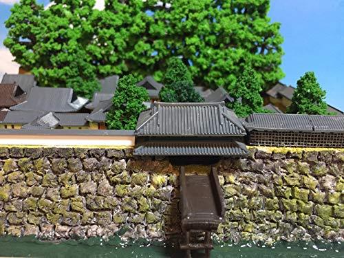 日本100名城 鹿児島城 模型 ジオラマ完成品 A5