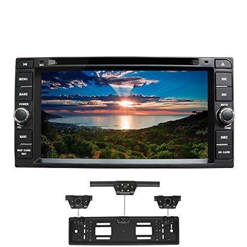 XISEDO Android 7.1 Autoradio 2 Din Car Radio 7' Car Stereo RAM 2G Navigatore GPS con Schermo di Tocco e Lettore DVD per TOYOTA RAV4/ Corolla/Vitz/ Echo/Vios/Camry/Hilux/ Prado/Land Cruiser 100