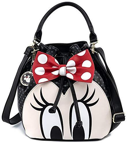 Micky Maus Loungefly - Minnie Bow Bucket Frauen Handtasche Multicolor