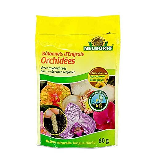 40 bâtonnets d'engrais Organique + mycorhizes UAB. Orchidées