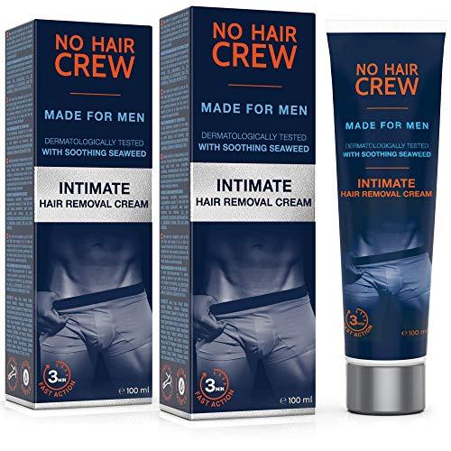 2 x NO HAIR CREW Crema Depilatoria Íntima Premium - Extra