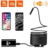 Wireless Endoscope WiFi Inspection Camera USB Endoscope 2.0MP HD Borescope 2 in...