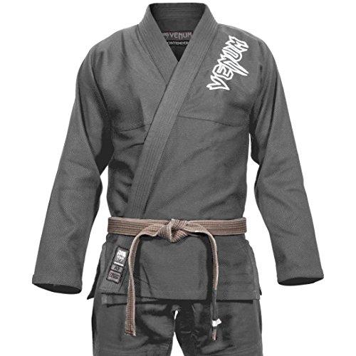 VENUM Contender 2.0 Kimono BJJ GI, Unisex Adulto, Gris, A2.5