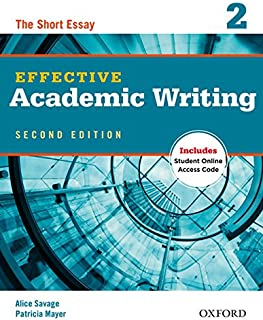 Effective Academic Writing 2nd Edition 2 Student's Book with Online Practice