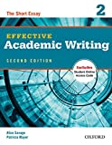 Effective Academic Writing 2e Student Book 2 (Effective Academic Writing (Second Edition))