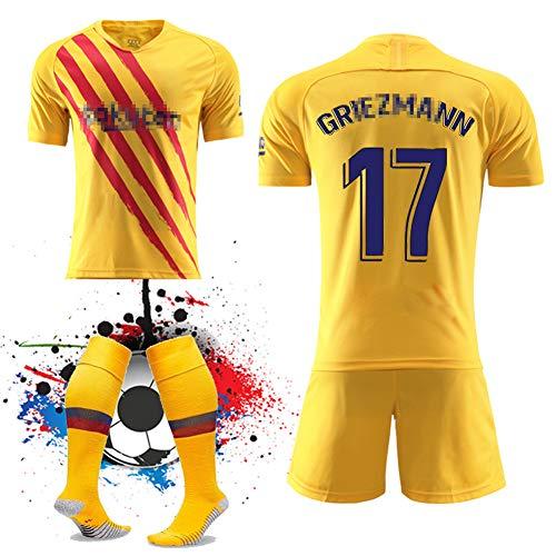 WQJIE Running T-shirt trainingspak jersey voetbalpak, heren sportkleding met korte mouwen Retro Medium Kleur