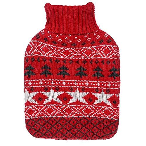 T-C son portadoras, Cubierta del bolso del estilo de los alces de Navidad de botellas de agua caliente de felpa Chaleco térmico-Microwavable Trigo Bolsa-microondas almohadilla de calor, cálido hogar t