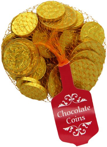 Steenland Gold Net of Milk Chocolate Coins 100 g